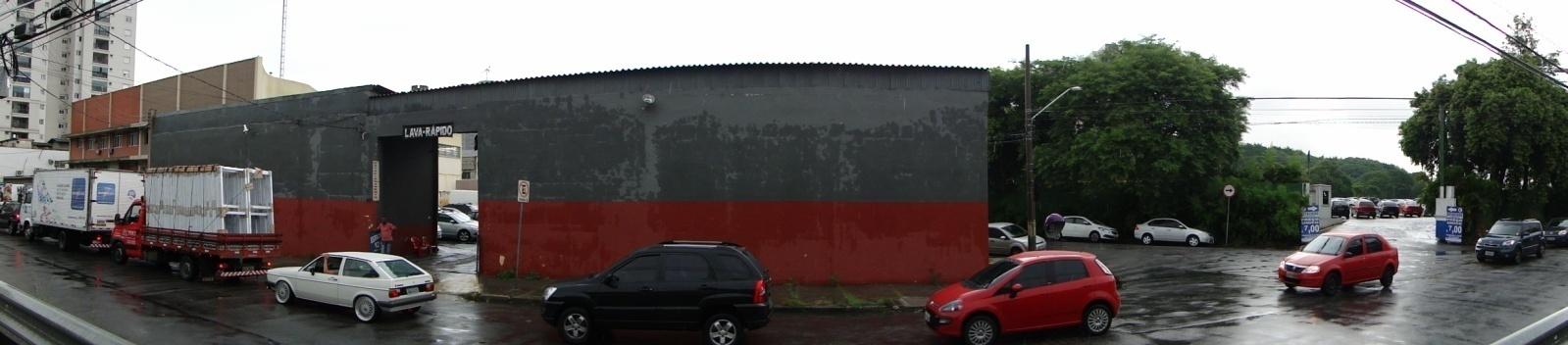 ZEIS 3 na Rua José Gomes Falcão. Segundo estudo preliminar de COHAB-SP, neste terreno seria possível construir empreendimento com 65 unidades habitacionais.