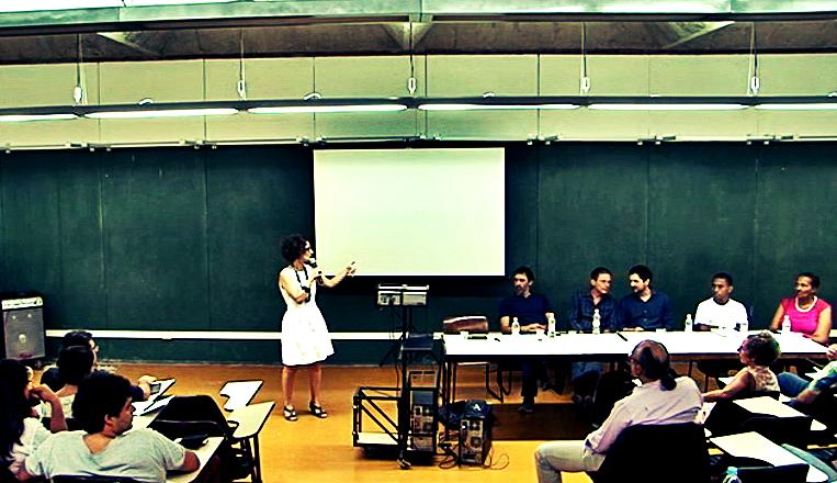 Debate na FAUUSP sobre o Concurso Público Nacional para o Plano de Urbanização do Subsetor A1 da OUCAB