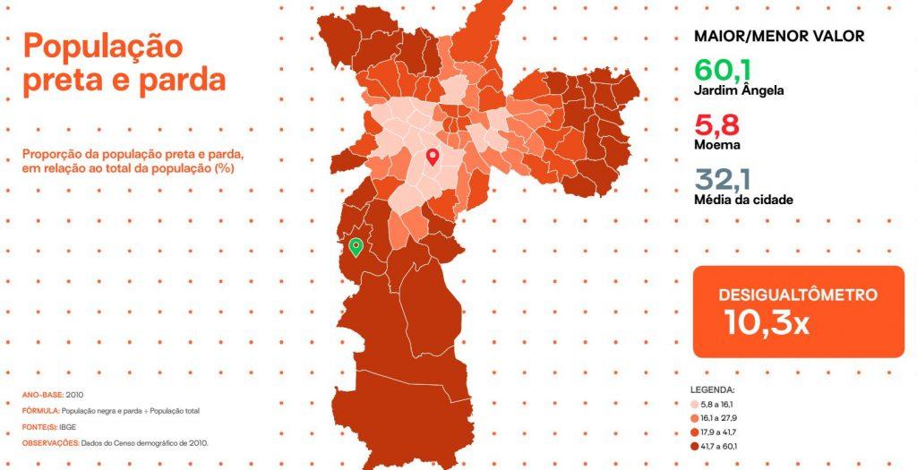O Mapa Da Desigualdade De Sao Paulo E As Licoes Que Vem Das Periferias Labcidade